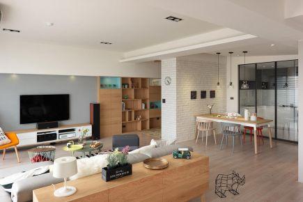 温馨北欧风格家装设计 北欧风格三房装修效果图