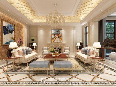 1100方独栋欧式风格别墅装修设计效果图