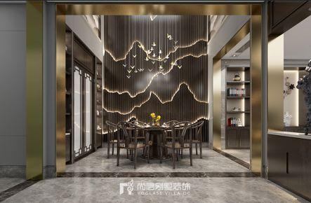 550方西溪君庐中式风格装修案例效果图