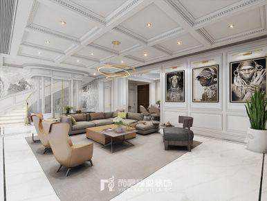 900方多层别墅现代极简风格装修案例效果图