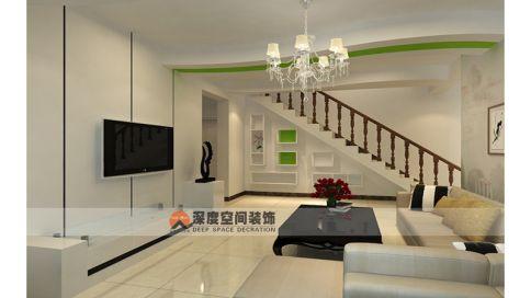 21克拉家庭装修 现代简约风格四居室装修效果图