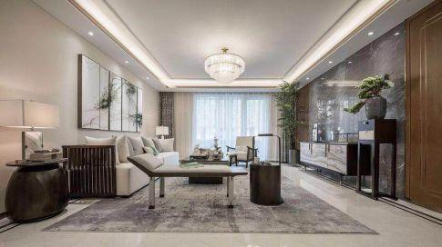简约中式三居室装修设计案例