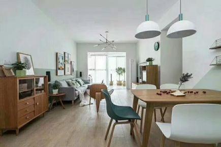 现代简约风格三居室装修案例