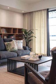 简约欧式风格四居室装修效果图