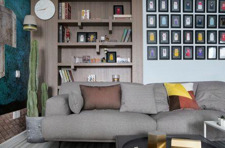 东城丽景现代风格三居室装修设计案例