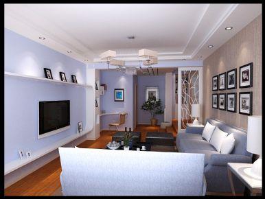 三河市福成二期 欧式风格三房家装效果图