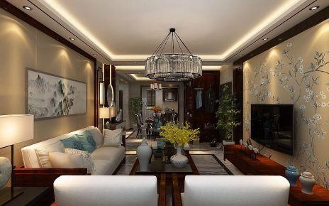 中式风格两房装修 中式风格家庭装修效果图