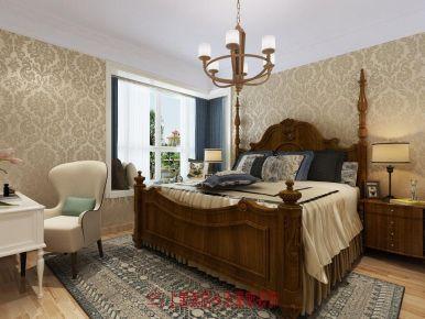 130平美式风格装修 130平米美式家装效果图