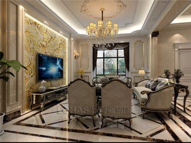 405平米欧式别墅装修设计 欧式风格别墅装修效果图