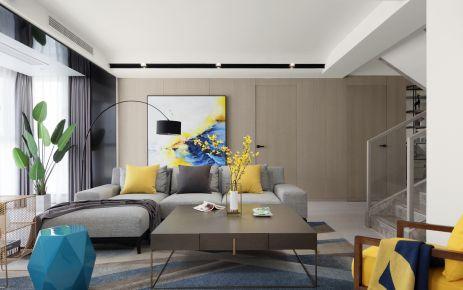 现代风格复式装修设计 现代风格家庭装修效果图