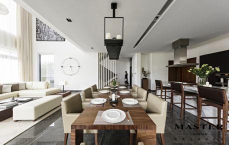 成都维也纳森林 现代风格四房装修效果图