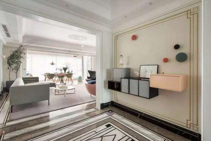 220平米北欧风大宅装修 北欧风格家庭装修效果图