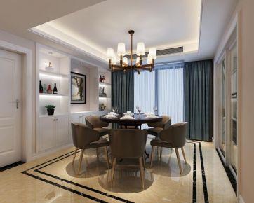 现代风格170平米四房装修效果图