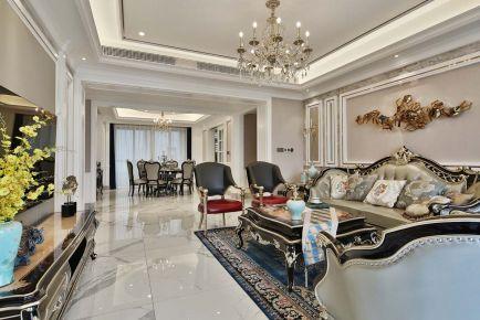 新古典欧式风格三房装修 新古典风格家庭装修效果图
