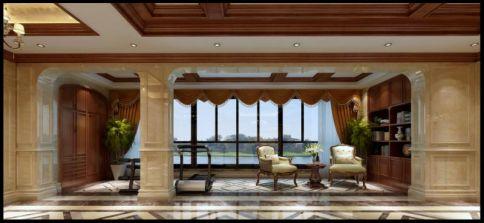 纯美新居美式风格装修 美式风格四房装修设计