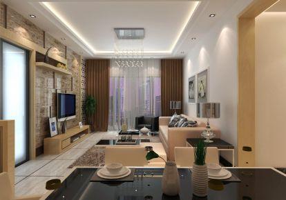 北京顺义区鲁能7号院 现代风格四房装修设计