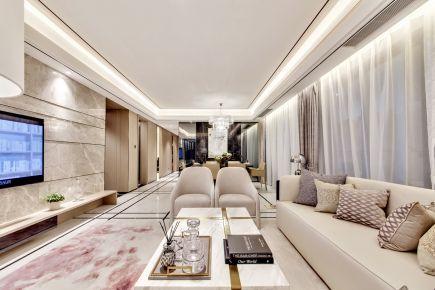 现代美学 现代风格四房装修设计效果图