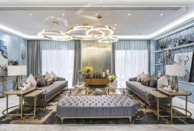 法式风格三房装修设计 法式风格家庭装修效果图
