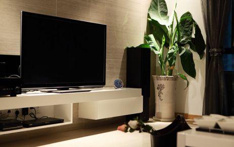 128平米现代风格家庭装修实景图