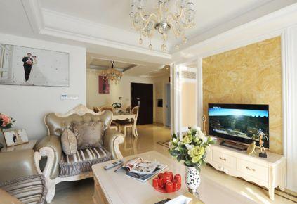 85平米简欧风装修案例 简欧风格家庭装修设计