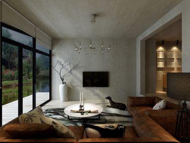 180平米极简主义风格别墅装修设计案例