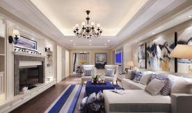 美式风格套房装修 美式风格三居室家庭装修设计