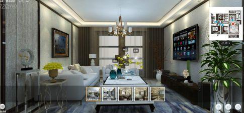 新中式豪华套房装修设计 新中式风格套房装修效果图