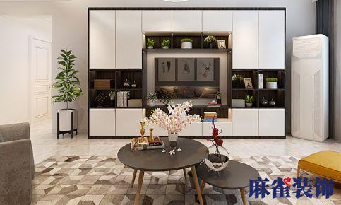 哈尔滨四季上东 简约风格三房装修效果图