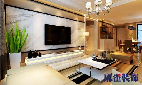 哈尔滨天悦小区 现代风格两房装修效果图