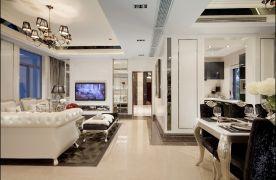绿地国际金融城-新古典-四居室装修案例