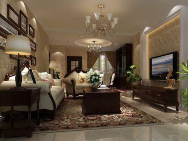 恒大华府-欧式-三居室装修案例