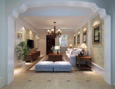 绿地悦城2现代简约风格两居室装修案例