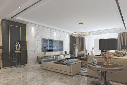 意韵现代简约风格四居室装修案例