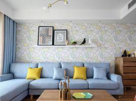和达城上城地中海风格三居室装修案例
