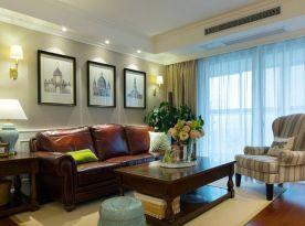 苏州欧式风情三房装修 欧式风格家庭装修效果图