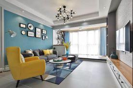 廊坊红星国际 简约风格三房装修设计效果图