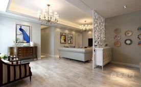 现代简约风格三居室装修 现代风格家庭装修设计图大全
