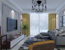 瑶溪组团 现代风格三房装修平面图设计
