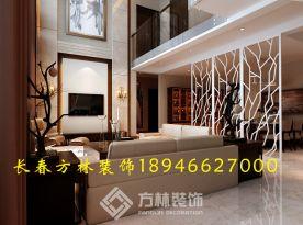 长春方林装饰现代风格四房装修设计效果图