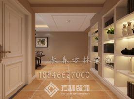 长春方林装饰现代风格三房家庭装修效果图