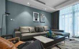 杭州盛元慧谷-170方现代风格家庭装修设计