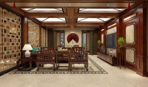 中式风格别墅装修 中式风格别墅设计效果图