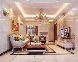欧式奢华,彰显品位 欧式风格四房装修设计效果图