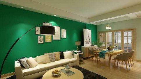 杭州龙浦街-简约风格三房家庭装修设计