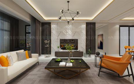 贵阳乐湾国际装修 现代风格三房装修设计效果图