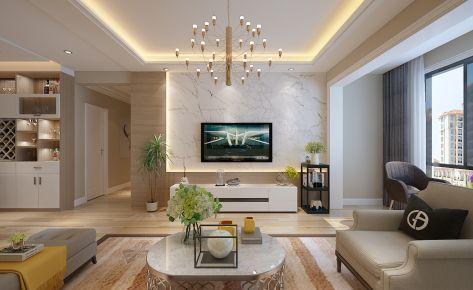 贵阳龙湾国际现代风格三房家庭装修图欣赏