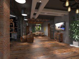 『西安』建工科技创业基地  工业风办公室装修效果图