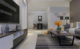 简约风格四房装修设计 简约风格家庭装修效果图