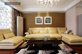 110平米干净简约小三室装修 简约风格三房装修效果图