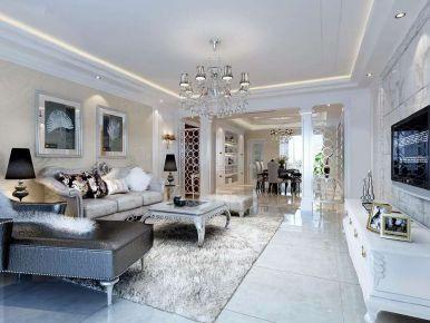 上河原著206平欧式4室装修设计图欣赏
